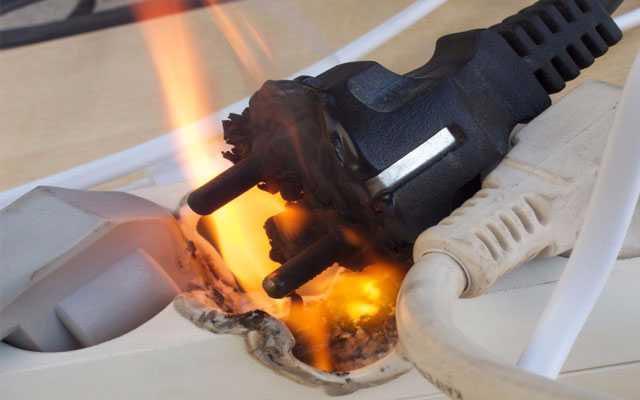 کپسول آتش نشانی مناسب برای حریق الکتریکی کدام است؟